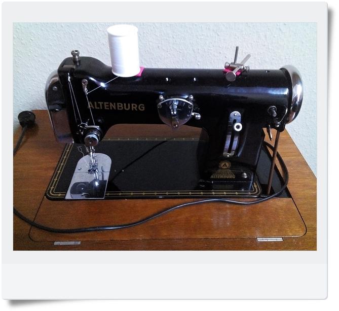 Nähmaschine Altenburg Kl. 50 - Mondspinne
