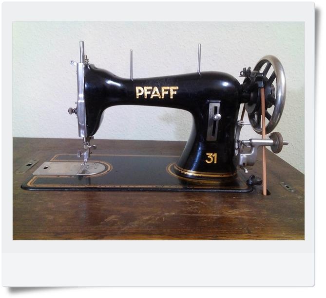 Nähmaschine Pfaff 31 von Schuster - Mondspinne
