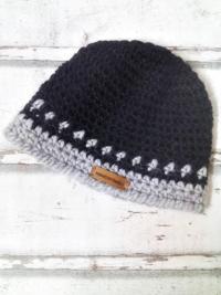 """Mütze """"Cuscu"""" (schwarz) von Mondspinne"""