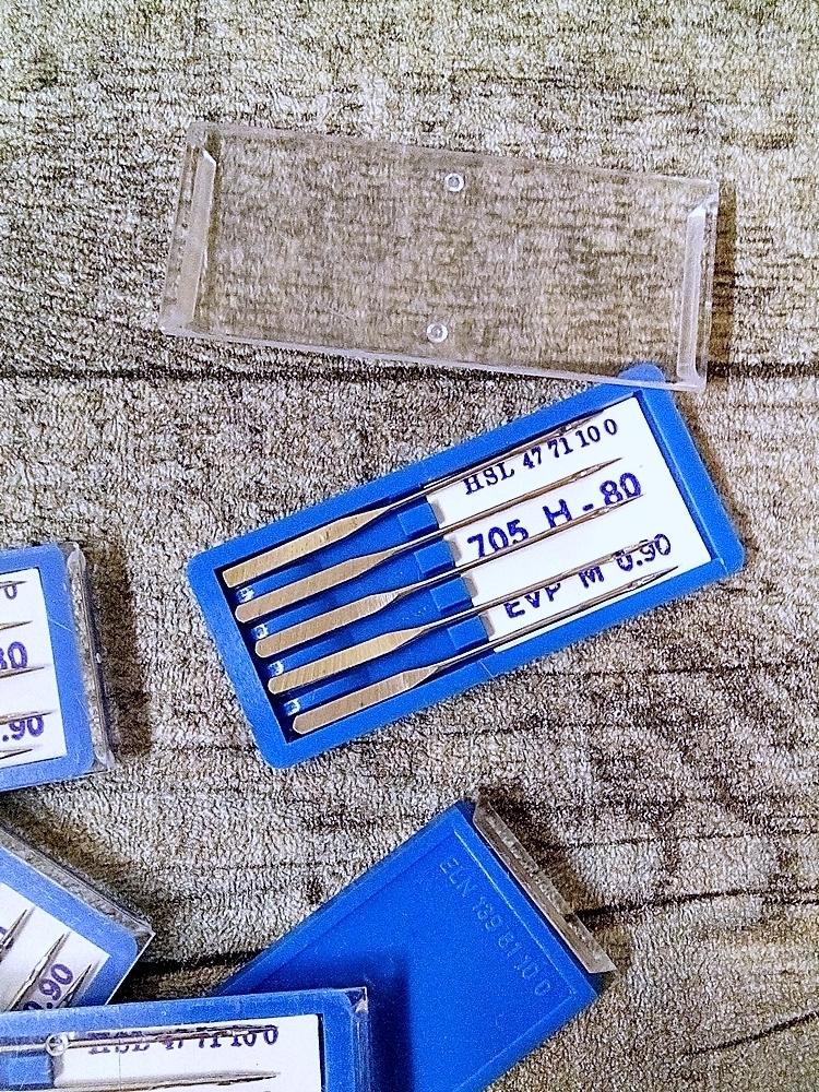 Nähmaschinennadeln 705 Stärke 80 - MONDSPINNE