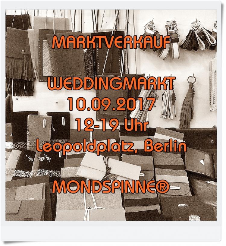 Weddingmarkt Leopoldplatz Mondspinne Berlin