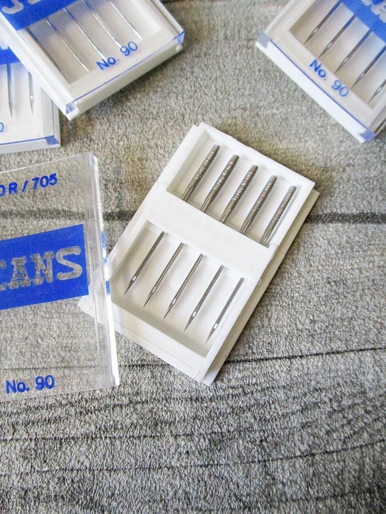NEWO Nähmaschinennadeln Jeans-Nadeln Stärke 90 5 Stk pro Packung - MONDSPINNE