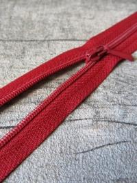 Reißverschluss weinrot 18 cm lang 22 mm breit YKK - MONDSPINNE