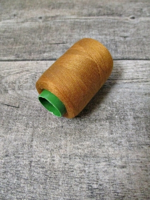 Garn Polyester camel 0,1 mm 400 m - MONDSPINNE