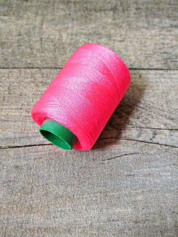 Garn Polyester dunkelpink 0,1 mm 400 m - MONDSPINNE