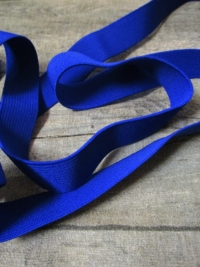 Gummiband Elastikband 2 cm Polyester Elastodien blau - MONDSPINNE