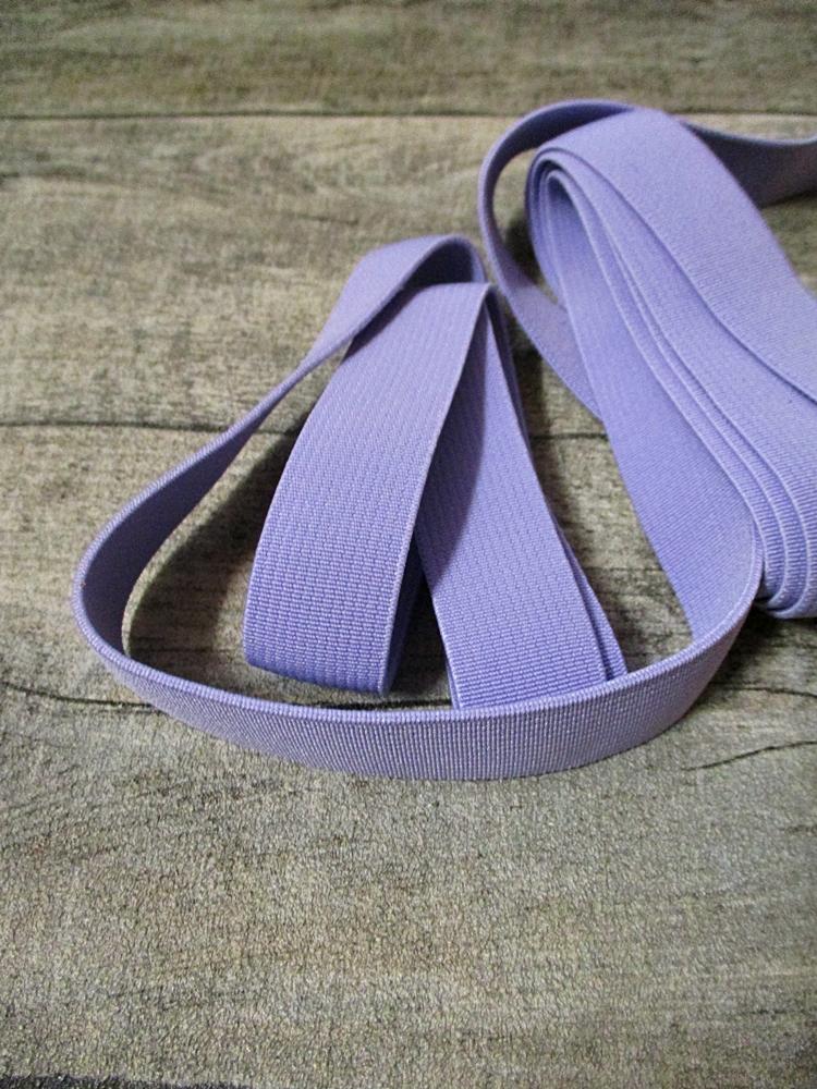Gummiband Elastikband 2 cm Polyester Elastodien flieder - MONDSPINNE