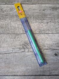 Häkelnadel INOX Prym 2,0 silber-grün Metall Kunststoff - MONDSPINNE