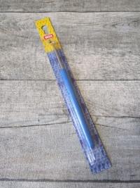 Häkelnadel INOX Prym 3,0 silber-blau Metall Kunststoff - MONDSPINNE