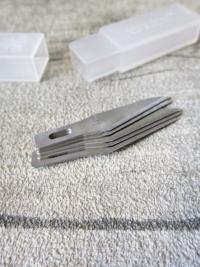 Klingen blades Skalpellklingen Messerklingen Metall Größe 11 Set mit 5 Klingen - MONDSPINNE