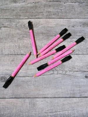 Schneiderkreide Kreidestift mit Radierpinsel pink - MONDSPINNE