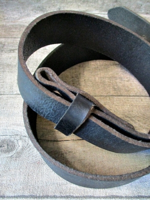 Gürtel Wechselgürtel Ledergürtel dunkelblau Rindsleder 144 cm - MONDSPINNE