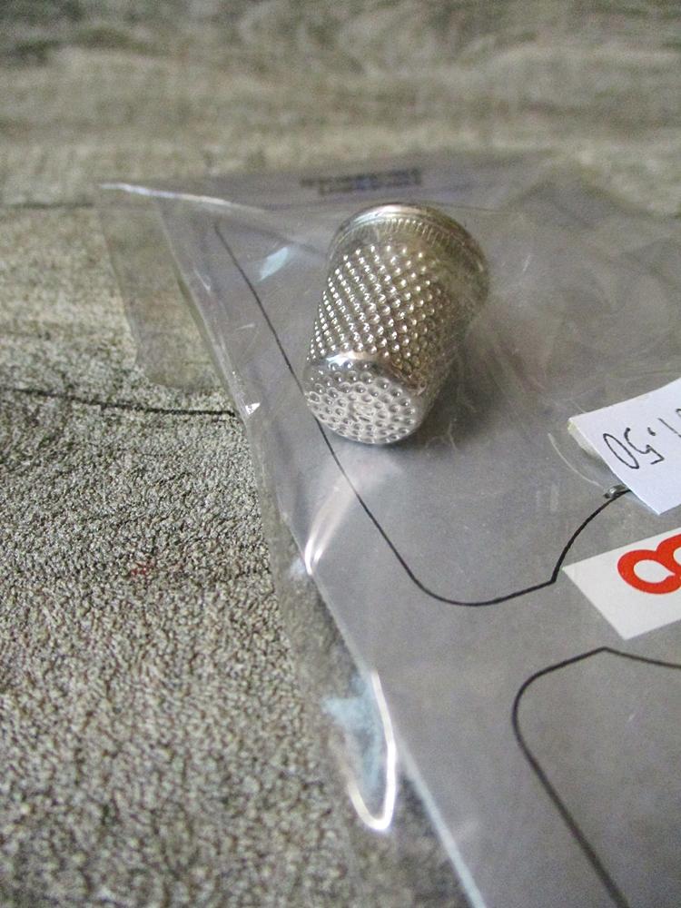 Fingerhut silber Metall Domido - MONDSPINNE