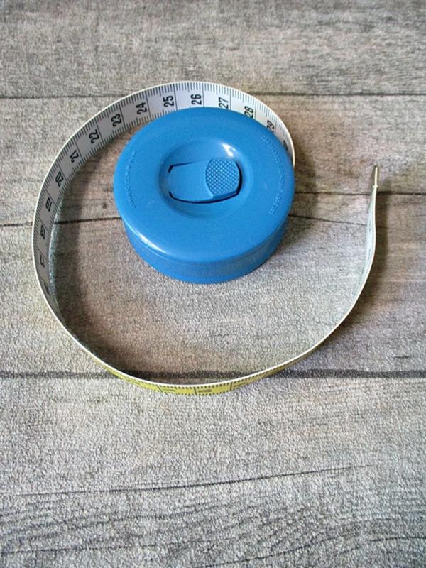 Maßband Bandmaß Metermaß Rollmaß Rollmaßband rund blau-silber 150 cm springfix hoechstmass - MONDSPINNE
