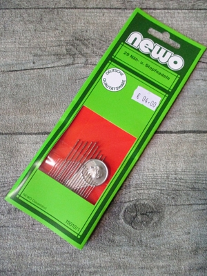 Nähnadeln Stopfnadeln 29 Stk mit Einfädler NEWO - MONDSPINNE
