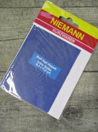 Flicken Bügelflleck hellblau jeansblau Niemann rechteckig 125x170 mm - MONDSPINNE