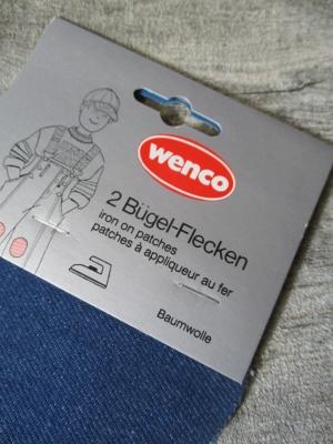 Flicken Jeansflicken dunkelblau Wenco - MONDSPINNE