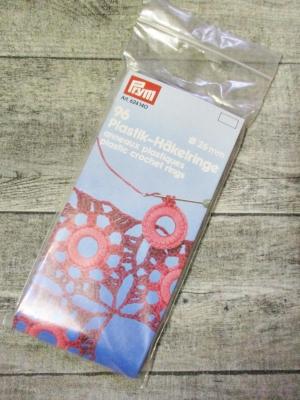 Häkelringe Kunststoff 26mm Prym - MONDSPINNE